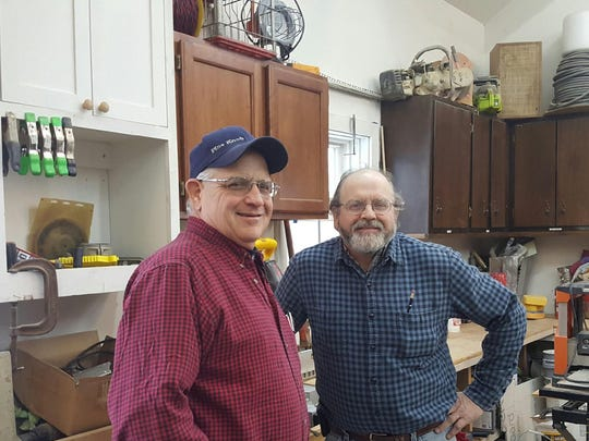 From left: Brothers Mike and Pete Willis, of Willis