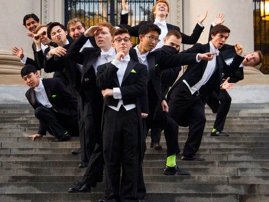 The Harvard Din & Tonics, an all-male a capella group,