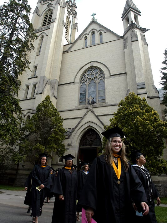 College of St. Elizabeth Graduation