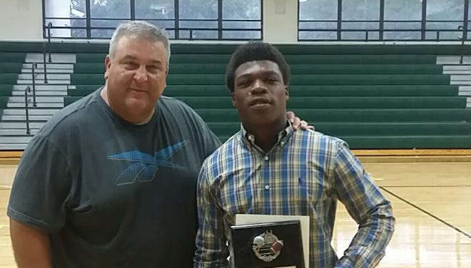 Fort Myers coach Sam Sirianni and Terrance Moore