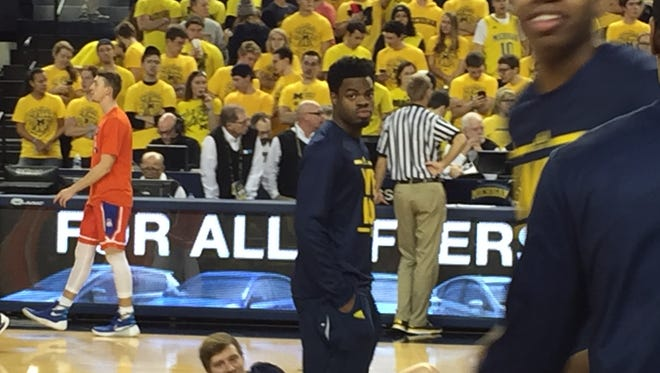 Michigan guard Derrick Walton Jr.