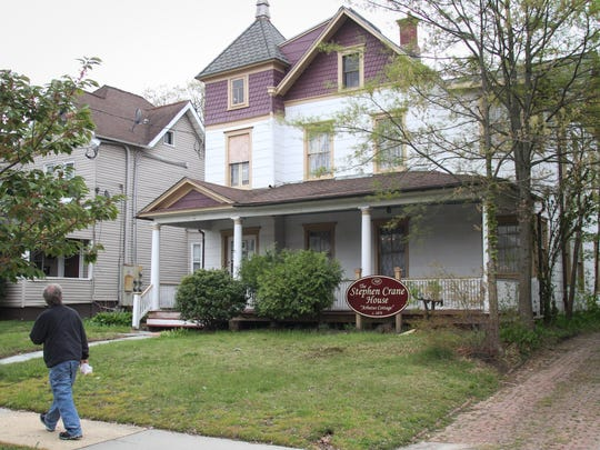 Stephen Crane lived at this house at 508 4th Ave. in Asbury Park in the late-19th century.