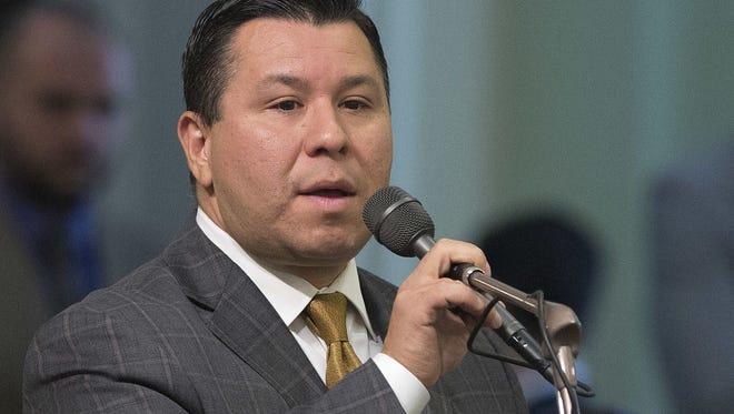 State Rep. Eduardo Garcia Assembly member Eduardo Garcia, a Democrat from Coachella, pictured June 23, 2016, in Sacramento.