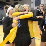 Marian volleyball defeats Mercy in semifinal
