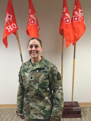 Lt. Col. Nicole E. Vinson took command of the 86th Expeditionary Signal Battalion on Nov. 16.
