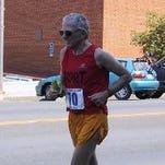 Hal Higdon, 82, runs near his home on Ponte Vedra Beach.