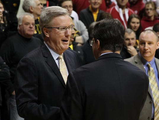 NCAA Basketball: Iowa at Indiana