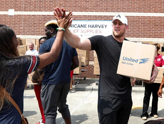 Hurricane Harvey: Relief fund started by J.J. Watt hits ...