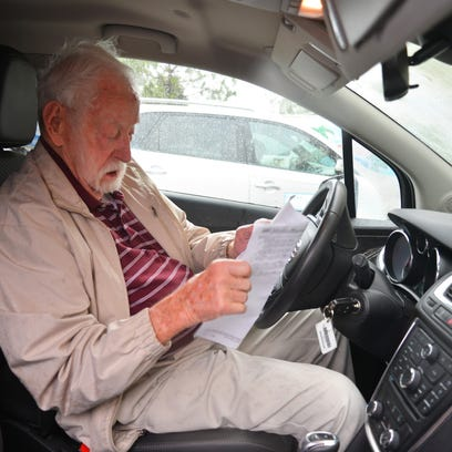Ed Kydd, 101, delivers Meals on Wheels every Monday