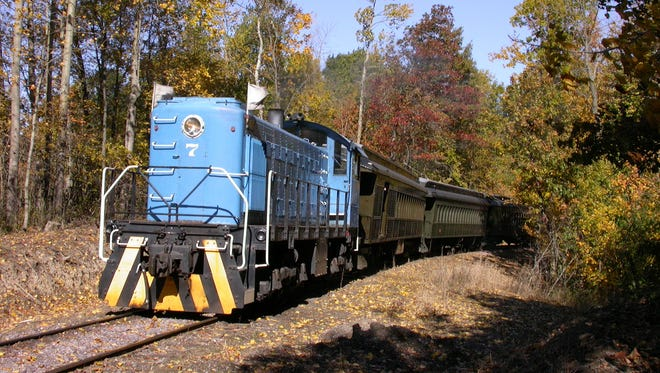 The Mid-Continent Railway Museum in North Freedom offers fall train rides each year, drawing an estimated 1,000 people each weekend.