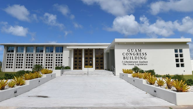 The Guam Congress Building in Hagåtña.