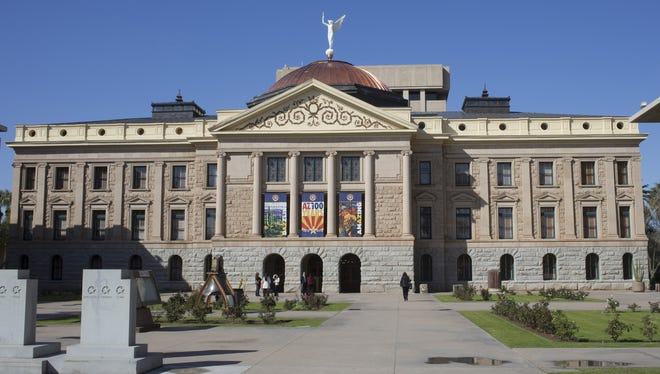 The Arizona Legislature convenes Monday with a protest and Gov. Doug Ducey's State of the State address.