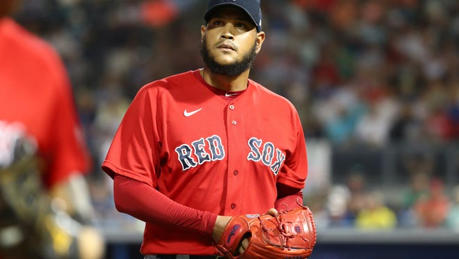 """""""It's kind of hard mentally when you can't go out there with everybody,"""" Eduardo Rodriguez said. """"For me, it was really hard to get the coronavirus and not be available for Opening Day."""""""