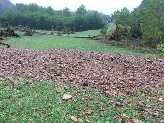 Colby's Army sustained significant flood damage to its trails, fences, fields and pastures.