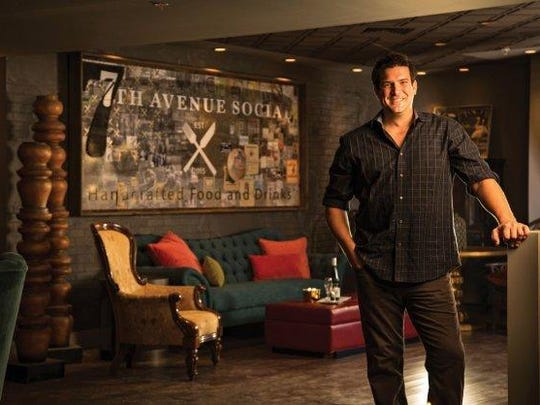 Owner Colin Estrem opened 7th Avenue Social in Naples in March.