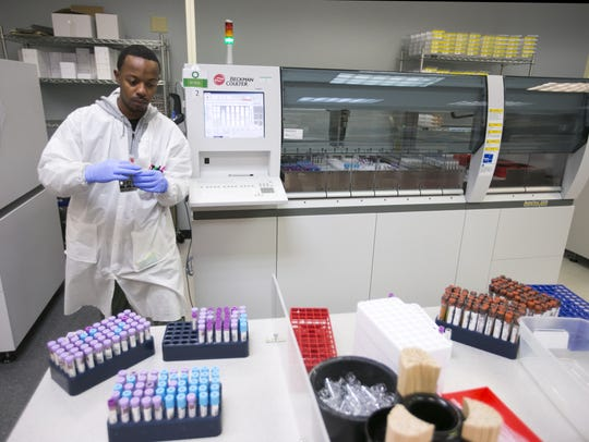 Sonora Quest Laboratories is based in Phoenix. The company has a new colon cancer blood test that serves as an alternative to colonoscopies.