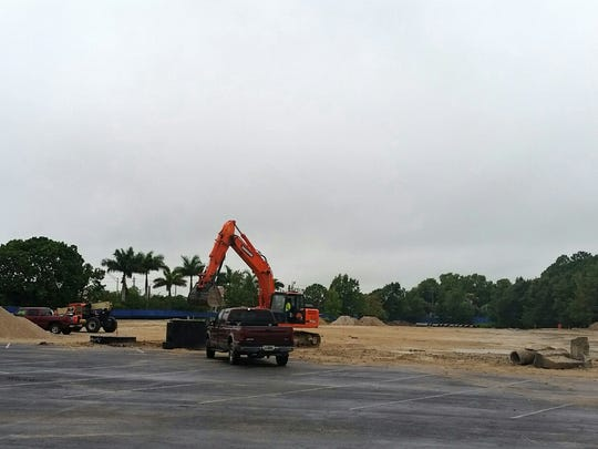 Suncoast Credit Union Arena is under construction on the Florida SouthWestern State College campus in Fort Myers.