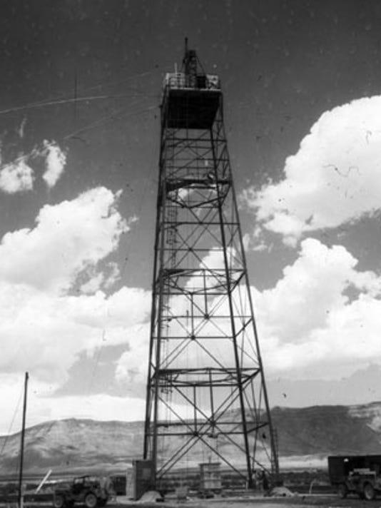 Trinity Site drop tower