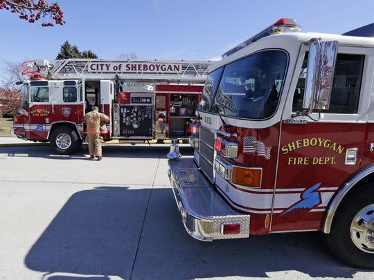 Sheboygan firefighters