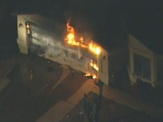Glendale house fire