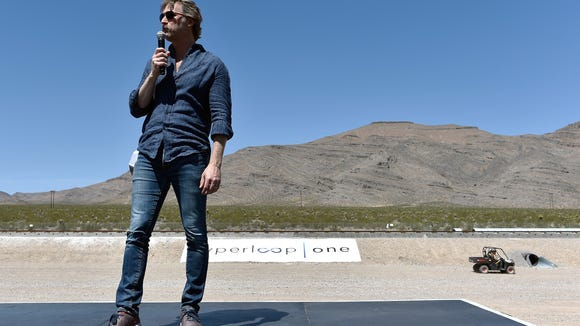 NORTH LAS VEGAS, NV - MAY 11:  Hyperloop One Co-Founder
