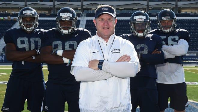 Nevada head football coach Brian Polian is more mature, comfortable and confident heading into a crucial 2016 season.