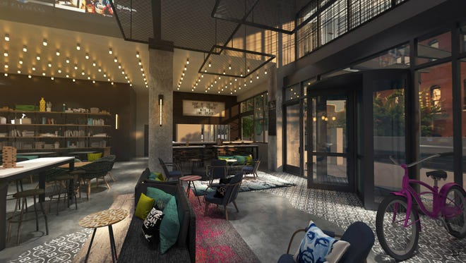 Moxy Chicago is the first of its brand in the Midwest.