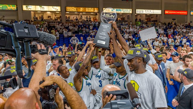 This FGCU ASUN championship team will fly into the NCAA tournament with lots more experience than did the Eagles' previous two NCAA tourney teams. FGCU will learn its seed on Sunday.