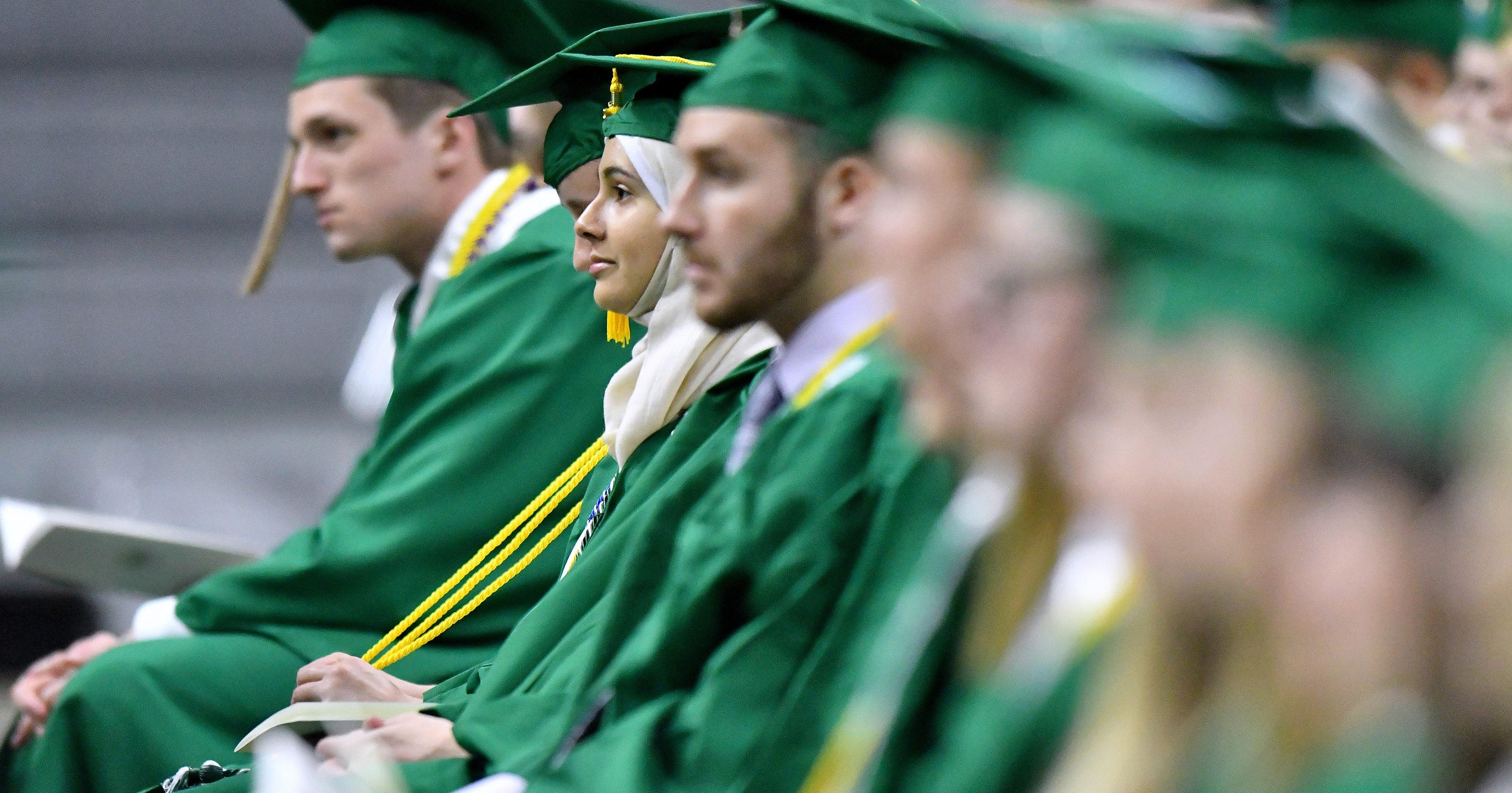 MSU grads honor Nassar victims at commencement