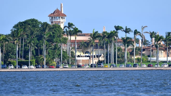 President Donald Trump's estate is viewed of his house on Mar-a-Lago on Tuesday December 31, 2019 from Palm Beach Fla. {Freelance photo by Steve Mitchell/The Palm Beach Post}