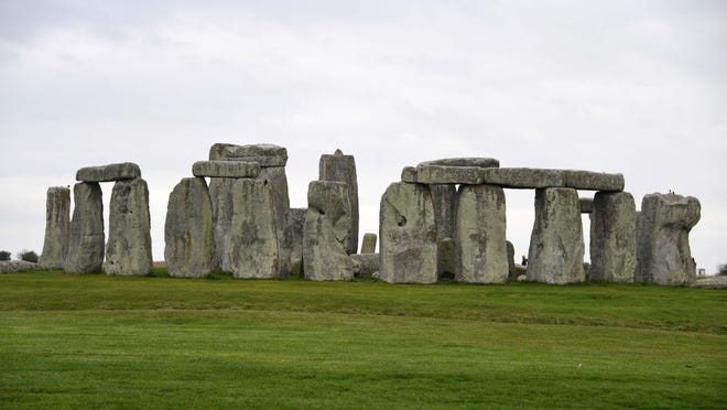 Archaeologists have discovered a large network of large shafts that surround the Stonehenge site in England.