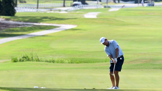 Life at Wilmington Municipal Golf Course, and other courses in Southeastern North Carolina, have provided a haven of reality for those that have been able to get out and play during the pandemic. In this photo, action takes place at the 2019 City Amateur tournament.
