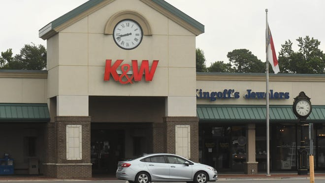 K&W Cafeteria at 3501 Oleander Dr. Monday July 13, 2020 in Wilmington, N.C. K&W Cafeterias, a North Carolina-based icon of Southern comfort food for more than 80 years, has filed for Chapter 11 bankruptcy protection.