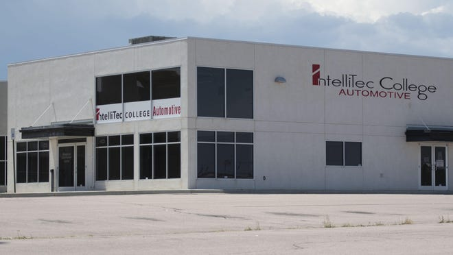 The Pueblo West Metropolitan District will purchase a Spradley Familly LLC owned building, 713 E. Spaulding Ave., in Pueblo West. Previously, the building housed Intellitec College Automative.