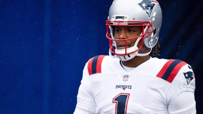 The jury is still out on whether Cam Newton is the New England Patriots' quarterback of the future.