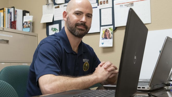 Blake Holbrook works with thousands of veterans across Central Texas as a mental health peer specialist for the Hope for Heroes at the Samaritan Center. Hope for Heroes provides counseling and integrative medicine to current service members, veterans and military families suffering from service related trauma.