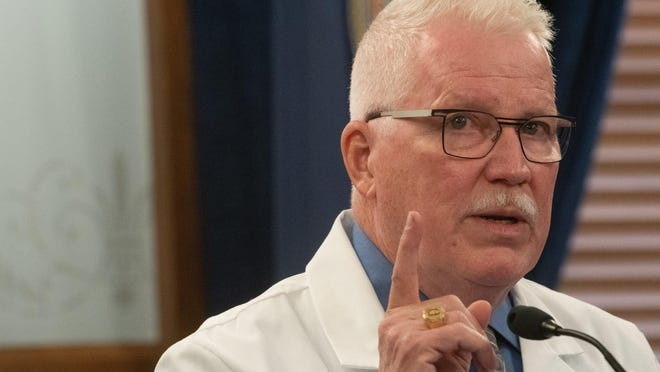 Lee Norman, secretary of the Kansas Department of Health and Environment, has defended the move to disclose the location of COVID-19 outbreaks in light of rising case counts.