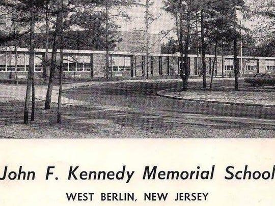 John F. Kennedy Memorial Elementary School in West Berlin  in 1965