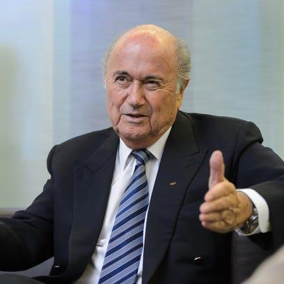 FIFA president Sepp Blatter now finds his organization