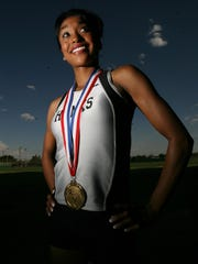 2008: Hanks High School senior Kendra Chambers was the El Paso Times 2008 All-City Track Most Valuable Performer.