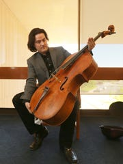 Zuill Bailey's cello was made by Venetian cello-maker Matteo Goffriller and dates to 1693.