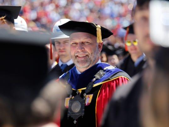 ISU 2017 commencement Leath