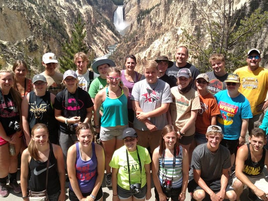 Algoma students' summer of High Adventure
