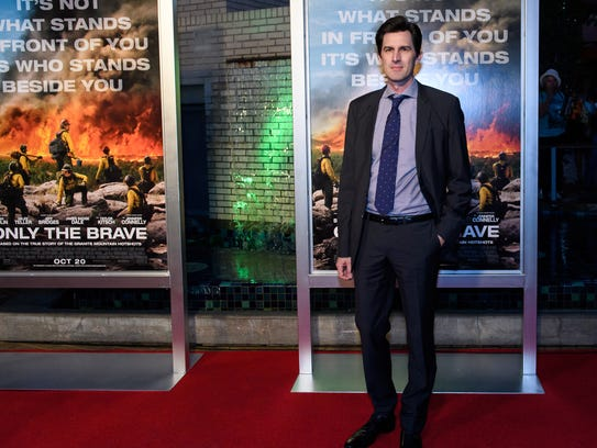"""""""I wanted to get as much of the details right as I possibly could,"""" """"Only the Brave"""" director Joseph Kosinski says."""