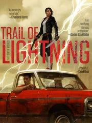 """Trail of Lightning"" is the debut novel by Nebula Award-winning"