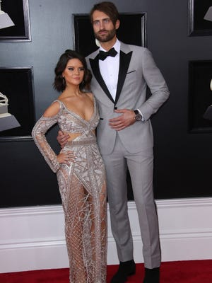 Maren Morris and Ryan Hurd were married on March 24, after getting engaged last July.