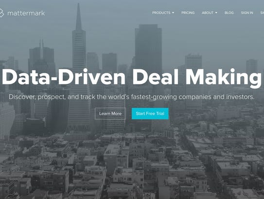 Mattermark started as a series of data-filled blog