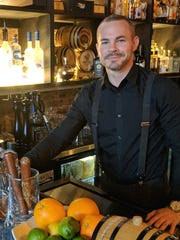 Zack Bowsher is the bar manager at Nook: A Paleo-influenced