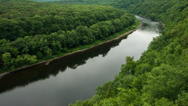 The Montague Land Use Board has declined to approve a variance for a paragliding school along the Delaware River. The above view of the river was taken from the nearby Hawk's Nest overlook, just outside Port Jervis, N.Y.