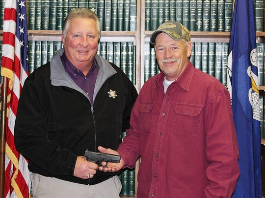 Chief Criminal Deputy Horace Womack recently retired from the DeSoto Parish Sheriff's Office.